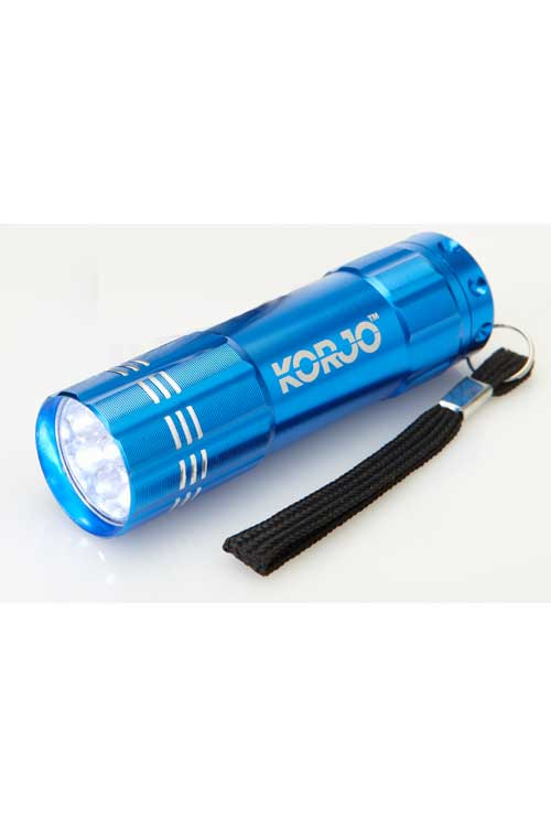 LED Pocket Torch : Blue : Korjo