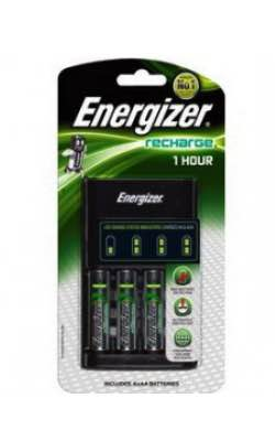1 Hour Charger for AA, AAA : Includes 4x AA : Energizer