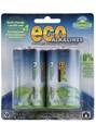 D Battery - 2 Pack : Eco Alkalines