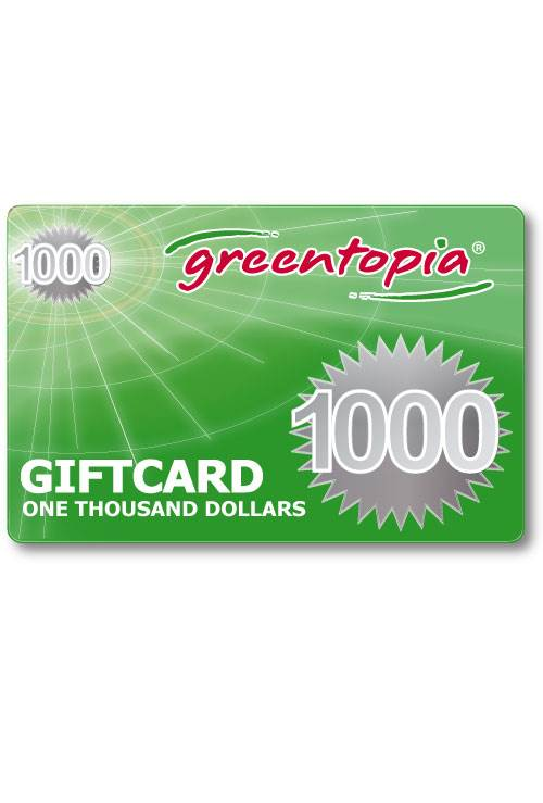 $1000 Gift Voucher (Delivered free via Email) : Greentopia