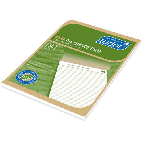 ECO A4 Office Pad: 50 Page:Tudor  product image