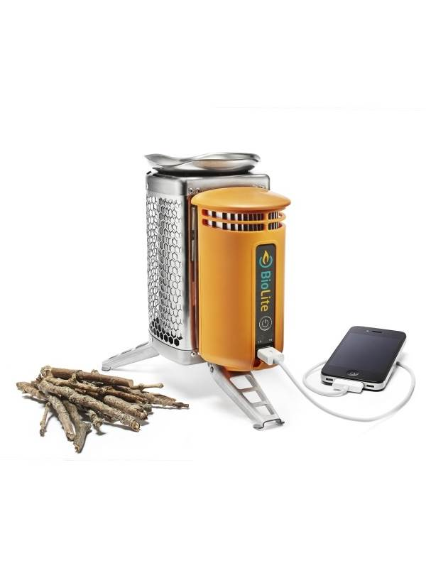 Product Image of BioLite : Innovative Camp Stove & Charger (Please note : iPhone for illustration purpose only)