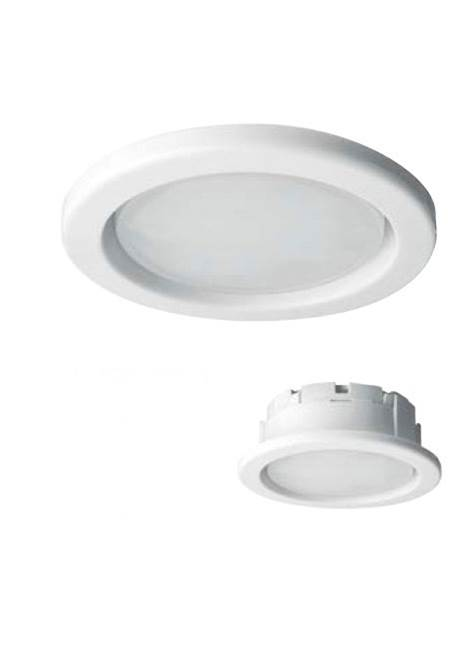 Planex: Recessed Downlight Luminaire: GX53: White Trim: Megaman