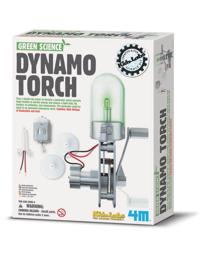 Product Image : Dynamo Torch Kit by 4M Green Science