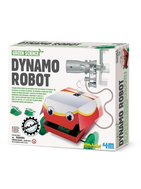 Dynamo Robot : 4M Green Science
