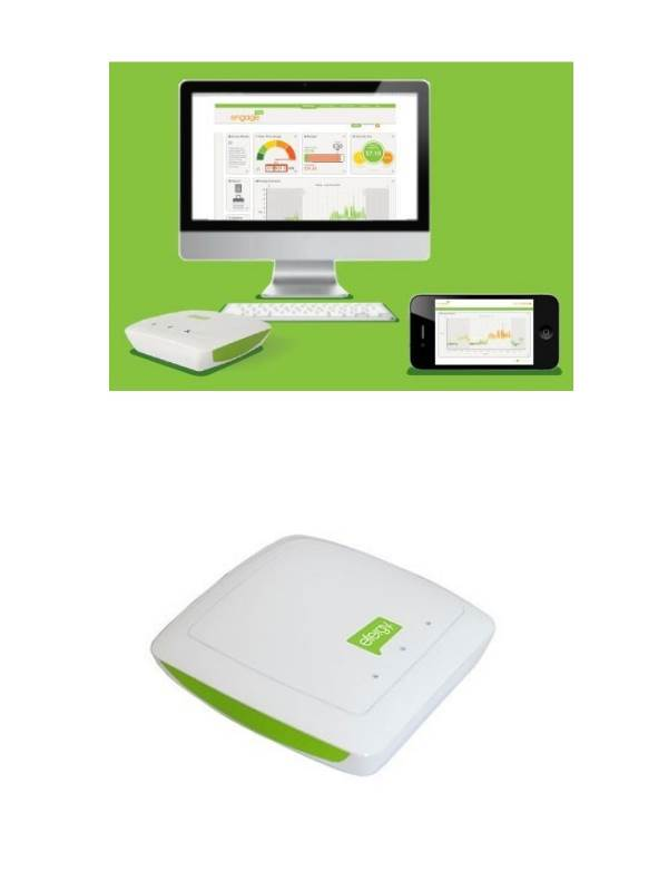 Efergy Engage : Internet Hub (for E2 & Elite Wireless Energy Meters)