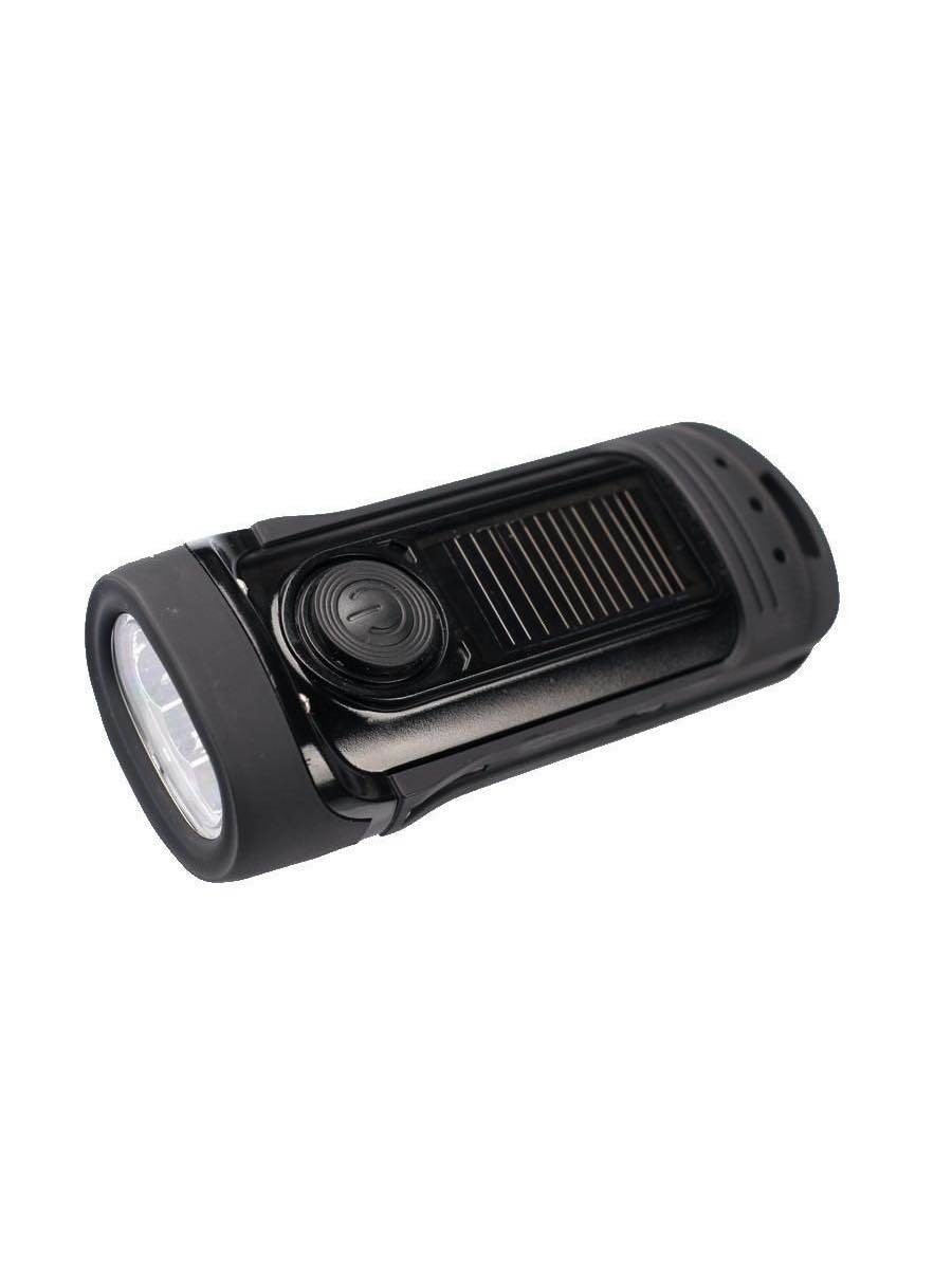 Barracuda : LED Torch - Wind up & Solar : POWERplus