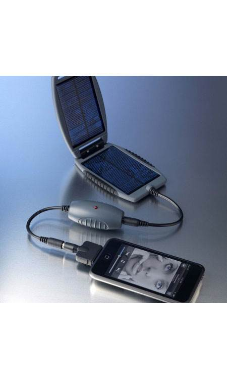 Solar Monkey & Solar Nut: Portable Solar Charger: Battery: Grey: Powertraveller
