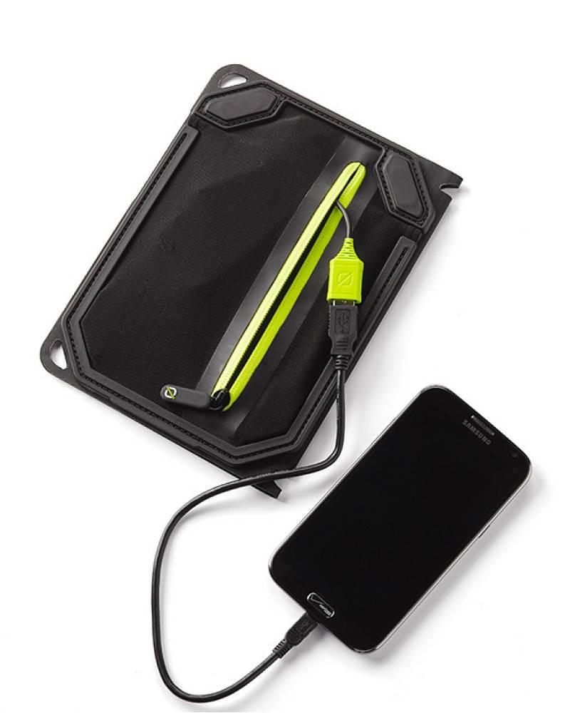 Goal Zero Guide 10 Plus And Nomad 7 Solar Kit Power Usb